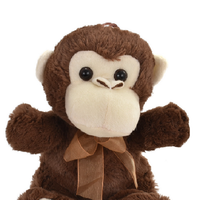 Snuggle Pals Monkey with a Bow