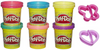 HASBRO Sparkle Play Doh 6 Pack
