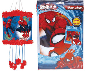 Ultimate Spiderman Pull String Pinata and Blindfold