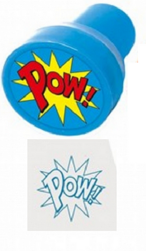 Playwrite Super Hero Ink Stampers 3.5 cm