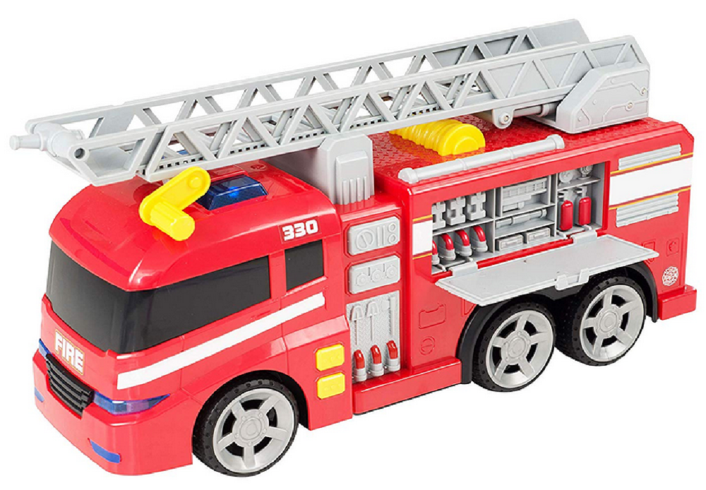 Hti Teamsterz Large Light And Sound Fire Engine Gift Giant