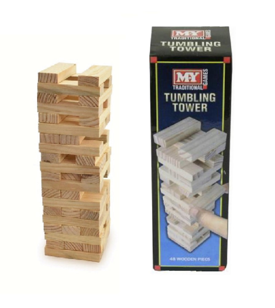 My Traditional Wooden Tumbling Tower
