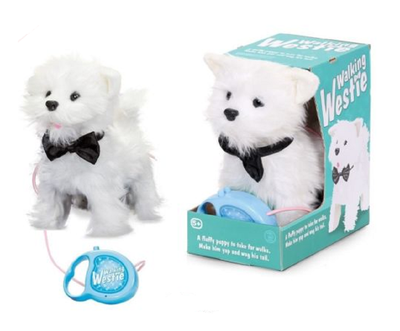 Walking Westie Puppy Dog - 28778