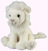 Ravensden Soft Plush White Lion Sitting 27cm