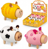 Tobar Wooden Noisy Farm Animals