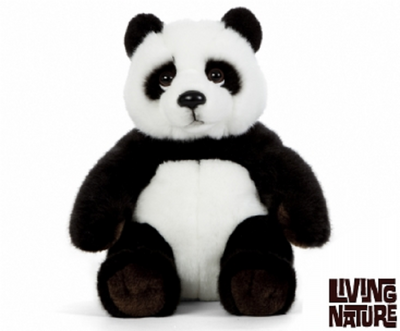Living Nature Panda Sitting