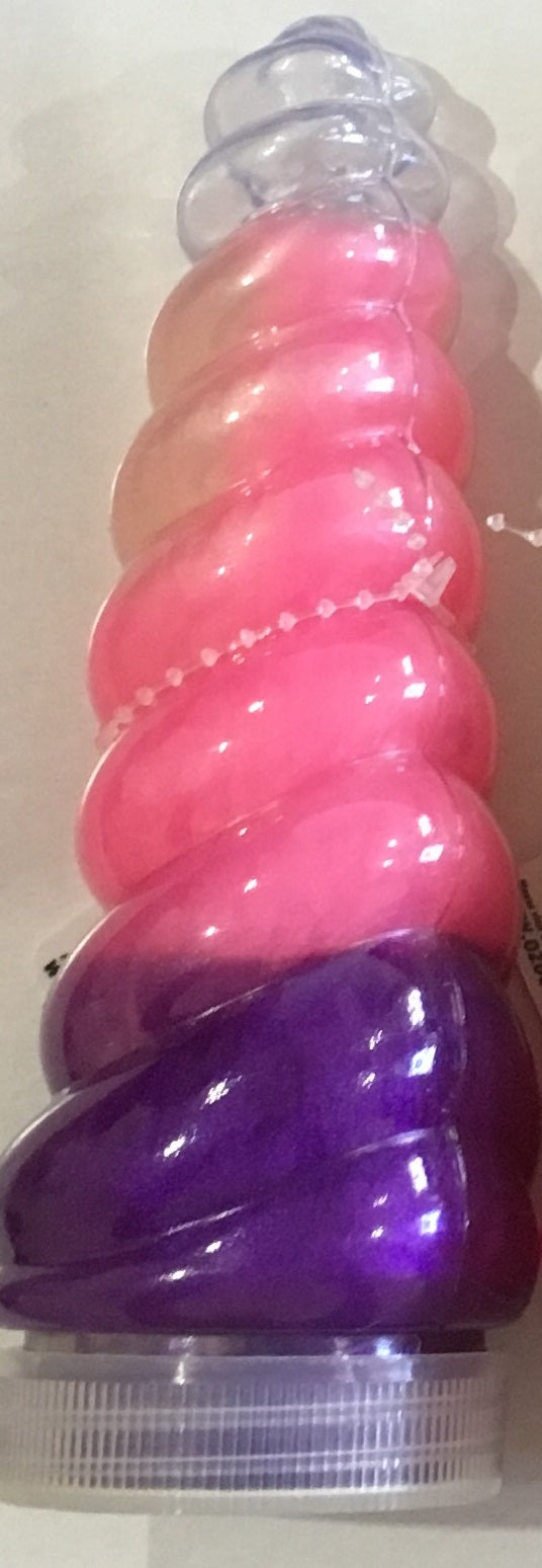Light Up Unicorn Twist Horn Slime