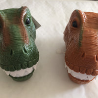 Wind Up Chattering Teeth Dinosaur Heads