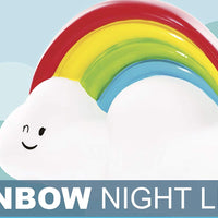 Rainbow Cloud LED Colour Changing Night Light