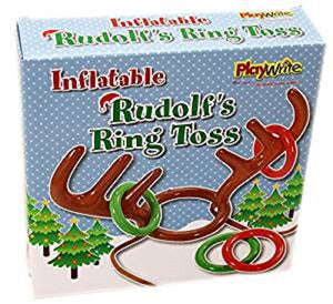Inflatable Rudolf's Ring Toss