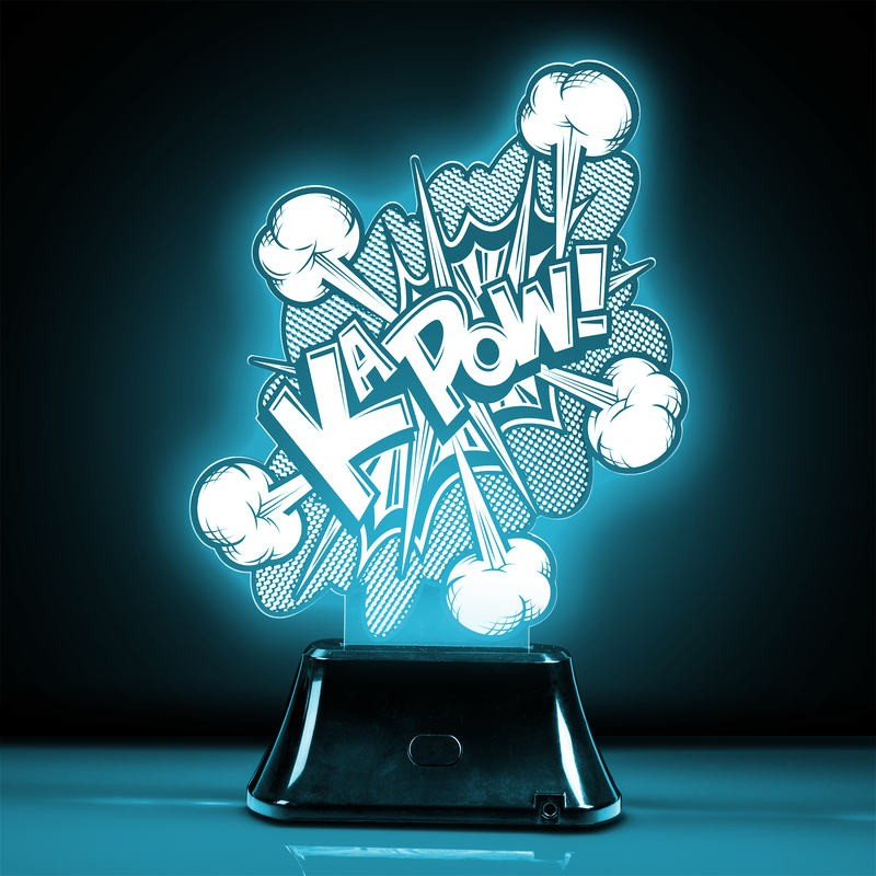 Colour Changing Kapow 3D Effect Light