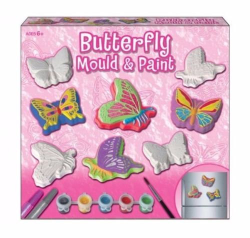 Butteryfly Mould And Paint Set In Colour