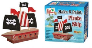 Make and Paint Pirate Ship