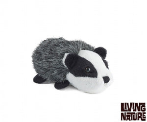 Living Nature Mini Buddies Badger