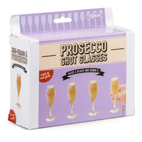 Set of 4 Prosecco Shot Glasses