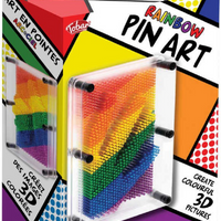 Tobar Rainbow Pin Art