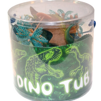 12pc Dinosaur Tub