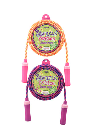 Sparkle Twistee Skipping Jump Rope