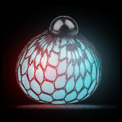 Tobar Light Up Squishy Mesh Ball