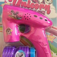 Unicorn Bubble Gun