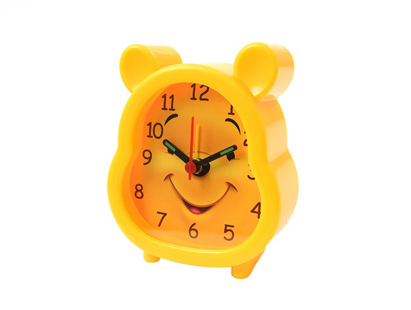 Yellow Bear Alarm Clock