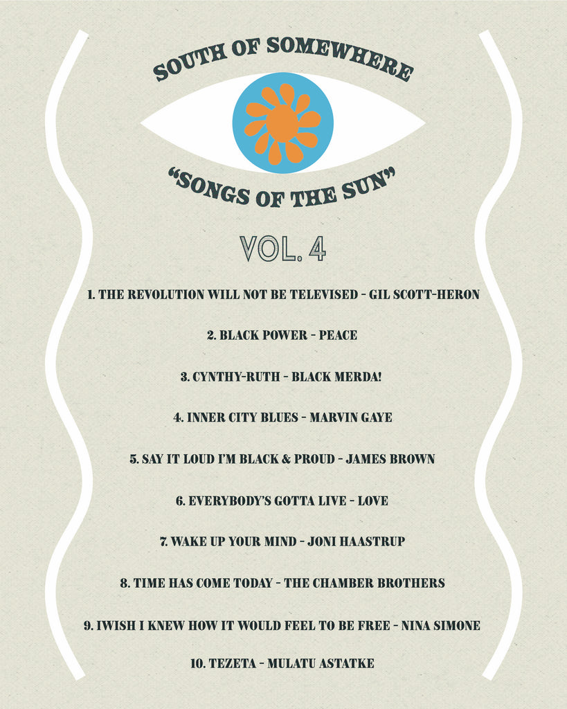 SONGS OF THE SUN VOL. 4 BLACK LIVES MATTER!