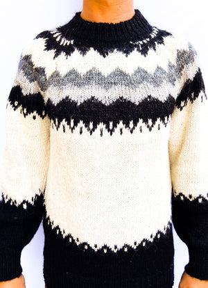 70's Wool Knit Sweater