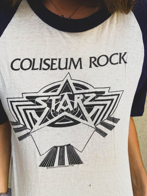 *PREMIUM ITEM* 1978 Starz Colliseum Rock Tee