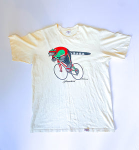 80s Hawaii Cycling Tee by Crazy Shirts