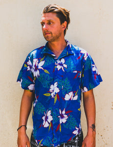 1980's Ocean Pacific Aloha Button Up