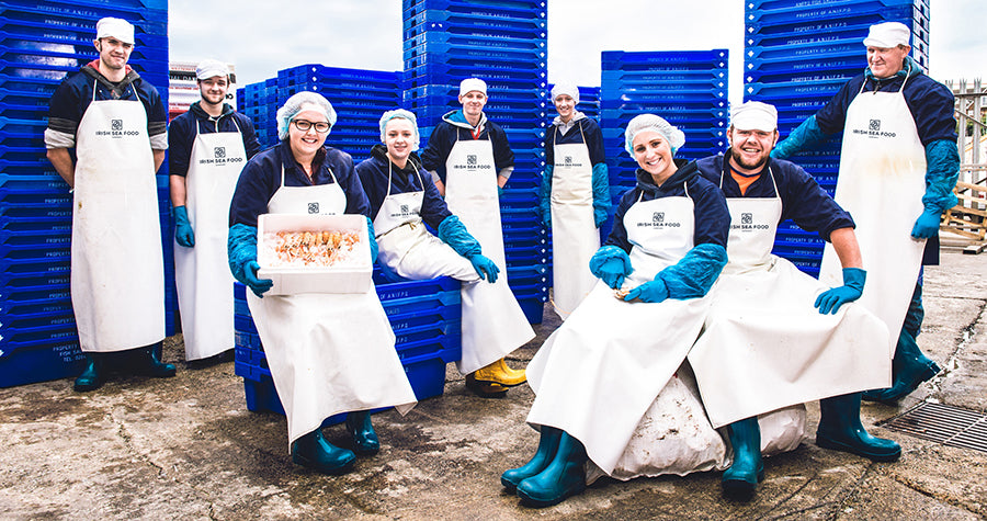 Irish Sea Food - staff