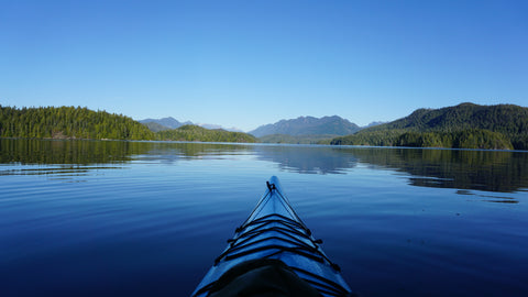 Kayaking in Clayoquot Sound