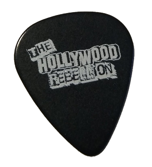 The Hollywood Rebellion Guitar Pick