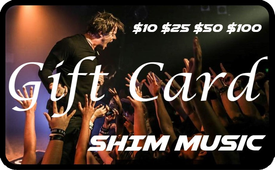 Shim Music Gift Card!