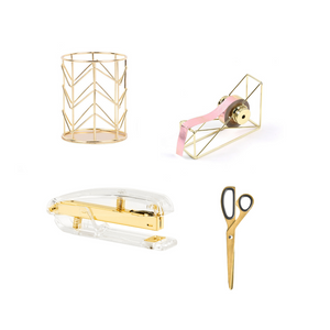 Desk Accessories Set - The Desk Diva