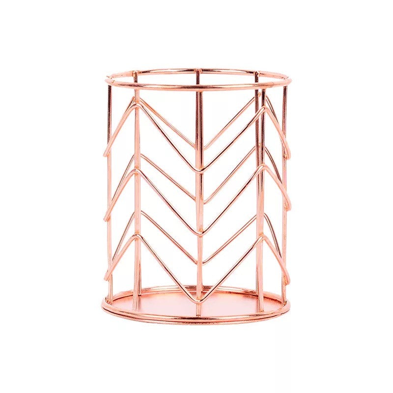 Rose Gold Pen Holder