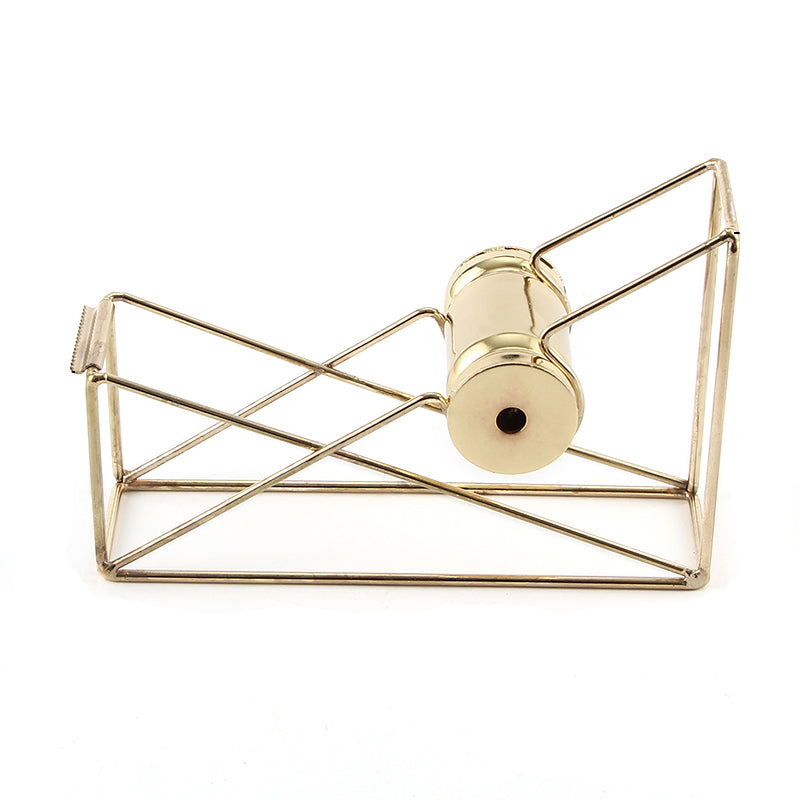 Gold Metal Tape Dispenser