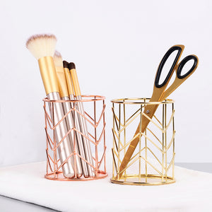metal pen holder gold