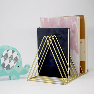 Book Holder Triangular Rack