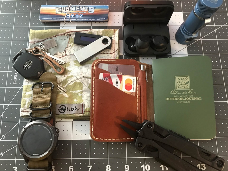Hardy Everyday Carry Setup