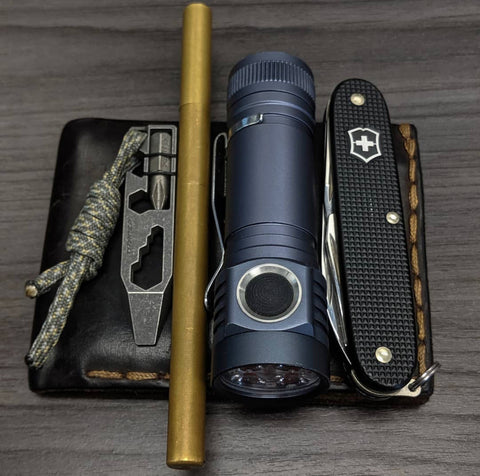 Everyday Carry with Brass Pen
