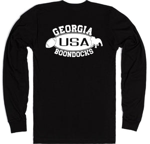 Boondocks Long Sleeve T-Shirt • GEORGIA Football & Bulldog Logo
