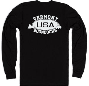 Boondocks Long Sleeve T-Shirt • VERMONT Snowmobile & 4-Wheeler Logo