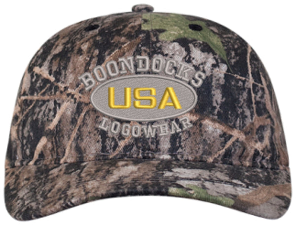BOONDOCKS LOGOWEAR USA Embroidered Cap