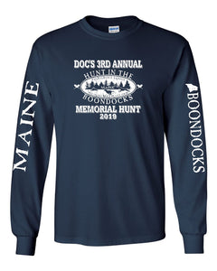 Boondocks Long Sleeve Tee DOC'S 3RD ANNUAL MEMORIAL HUNT