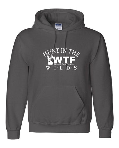 HUNT IN THE WILDS WTF Pullover Hooded Sweatshirt