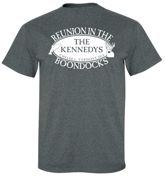 KENNEDY REUNION 2018 Short Sleeve Tee