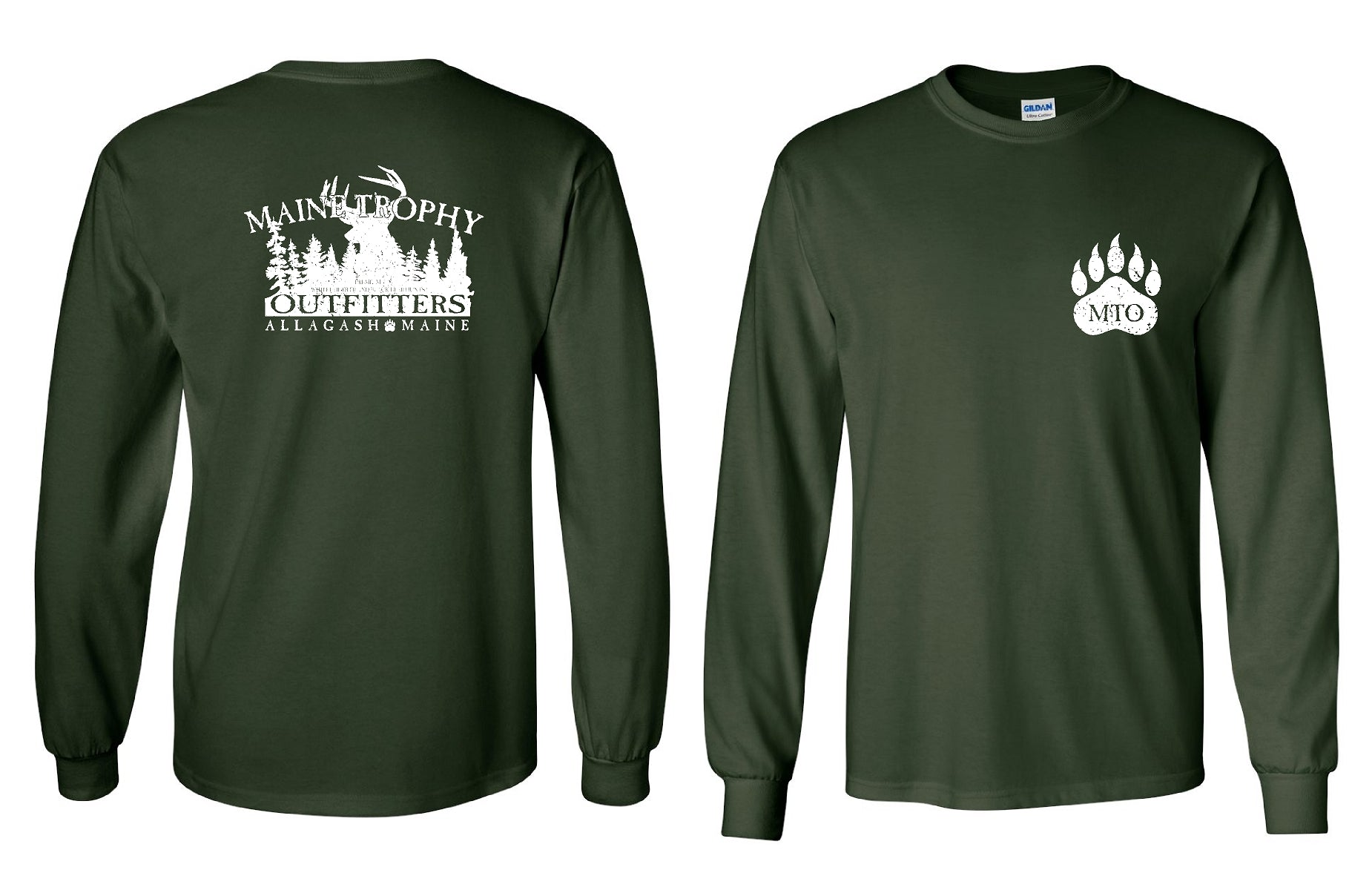 MAINE TROPHY OUTFITTERS Long Sleeve Tee