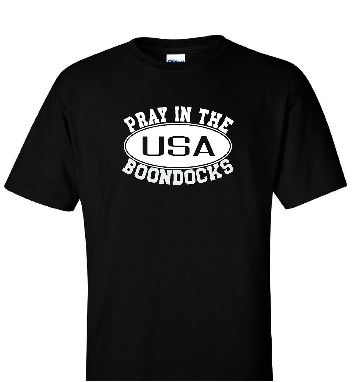 Boondocks T-Shirt • PRAY IN THE BOONDOCKS Logo