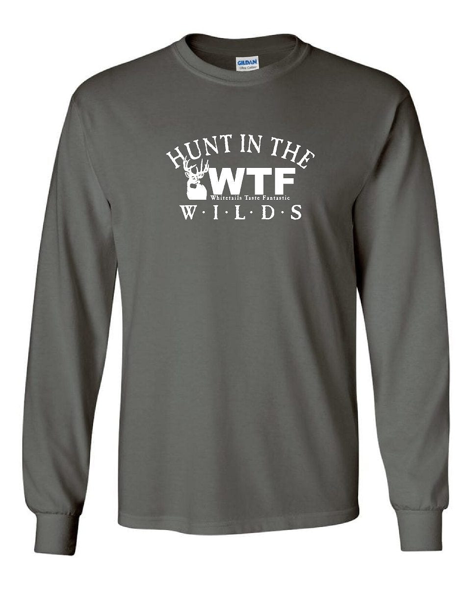 HUNT THE WILDS WTF Long Sleeve T-SHIRT